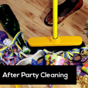 after-party cleaning