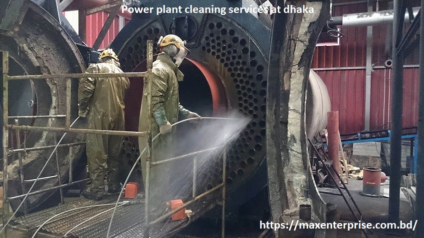 Power plant cleaning services at dhaka